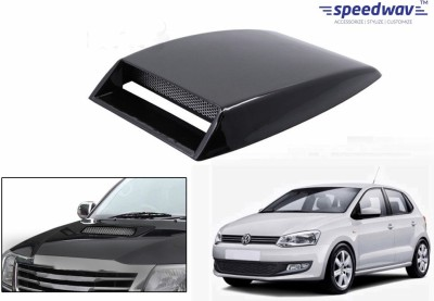 Speedwav Car Turbo Style Air Intake Black-Volkswagen Polo New Bonnet Scoop  available at flipkart for Rs.348