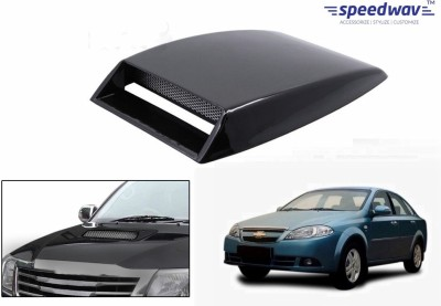 Speedwav Car Turbo Style Air Intake Black-Chevrolet Optra Magnum Bonnet Scoop  available at flipkart for Rs.348