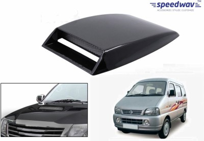 Speedwav Car Turbo Style Air Intake Black-Maruti Versa Bonnet Scoop  available at flipkart for Rs.348