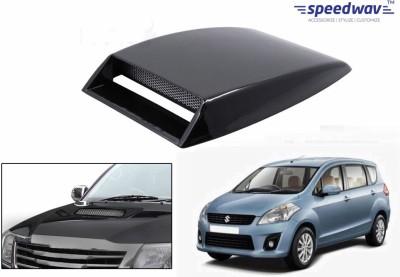 Speedwav Car Turbo Style Air Intake Black-Maruti Ertiga Bonnet Scoop  available at flipkart for Rs.348