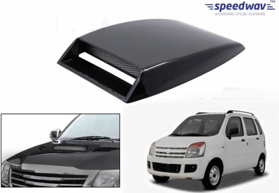 Speedwav Car Turbo Style Air Intake Black-Maruti WagonR Bonnet Scoop  available at flipkart for Rs.348