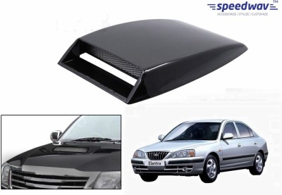 Speedwav Car Turbo Style Air Intake Black-Hyundai Elantra Bonnet Scoop  available at flipkart for Rs.348