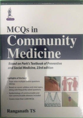 Compare park textbook of preventive and social medicine 23rd edition mcqs in community medicine based on parks textbook of preventive and social medicine 23rd editionenglish paperback ranganath ts fandeluxe Images