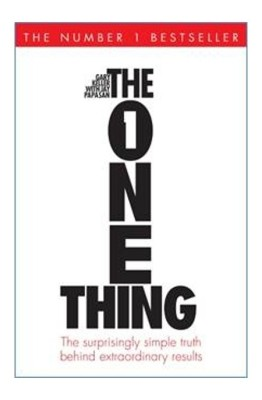 The One Thing : The Surprisingly Simple Truth Behind Extraordinary Results(English, Hardcover, Jay Papasan, Gary Keller)