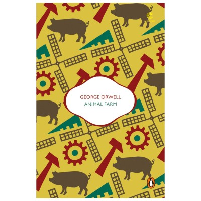 a comparison of the novels 1984 and animal farm by george orwell
