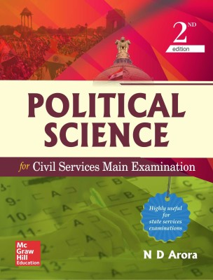Political Science for Civil Services Mains Examinations 2 Edition(English, Paperback, N D Arora)