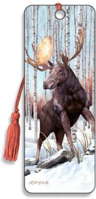 Om Book Shop Moose 3D Bookmark(General, Multicolor)  available at flipkart for Rs.110