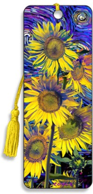 Om Book Shop Sunflowers 3D Bookmark(General, Multicolor)  available at flipkart for Rs.110