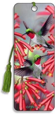 Om Book Shop Humming Birds 3D Bookmark(General, Multicolor)  available at flipkart for Rs.110
