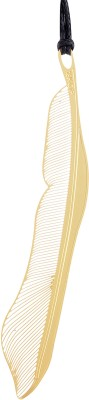 Temple Trees Gold Feather Metal Bookmark Bookmark(General, Gold Plated)  available at flipkart for Rs.200