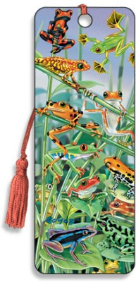 Om Book Shop Hanging Around 3D Bookmark(General, Multicolor)  available at flipkart for Rs.120