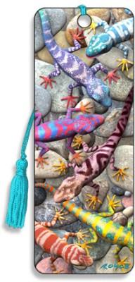 Om Book Shop Geckos 3D Bookmark(General, Multicolor)  available at flipkart for Rs.110