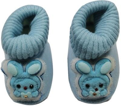 Camey Booties(Toe to Heel Length - 12 cm, Blue)