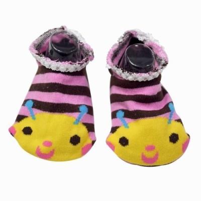 Pinkblueindia Booties(Toe to Heel Length - 13 cm Multicolor)