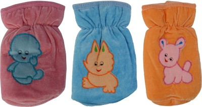 Aarushi Infant & Toddler's Feeding Soft Cotton Bottel cover(Multicolor)