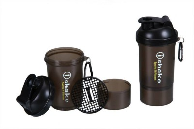 iShake 20 500 ml Shaker, Sipper(Silver)  available at flipkart for Rs.226