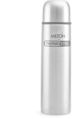 Milton Thermosteel 1000 ml Flask(Pack of 1, Silver) at flipkart