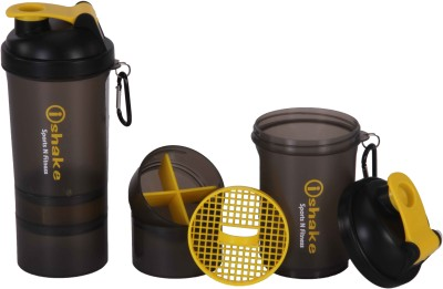 iShake 41 500 ml Shaker, Sipper(Yellow, Red)  available at flipkart for Rs.250