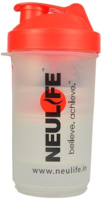 Neulife V2 Multi Storage 3 In One Shaker 800 ml Bottle(Red)