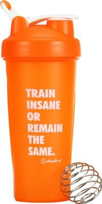 iShake Orange Body White Lid Warrior gym bottle/ Cross Fit 600 ml Shaker(Pack of 1, Orange, White)  available at flipkart for Rs.251