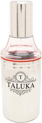 "Taluka (10.7"" x 3.5"" Inches) Stainless Steel Oil can Oil Pourers Capacity :- 1000 ML 1000 ml Bottle(Pack of 1, Steel/Chrome)"