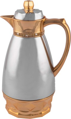 Giftadia Stainless Steel Hot & Cold Thermos Vacuum Flask - Silver 1000 ml Flask(Pack of 1, Silver) at flipkart