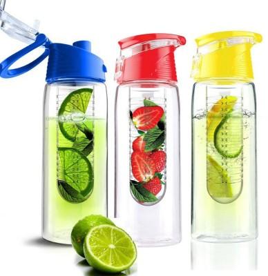 ALTG Fruit Infuser 700 ml Bottle(Pack of 3, Multicolor) at flipkart