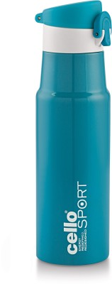 Cello TURBO 550 ml Flask(Pack of 1, Green)