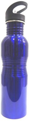 Aquapolo STAINLESS STEEL 750 ml Bottle(Pack of 1, Blue) at flipkart