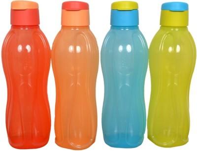 Tupperware Tupperware 1liter fliptop water bottle 1000 ml Bottle(Pack of 4, Multicolor)