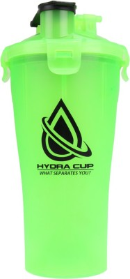 Hydra Cup Dual Shaker 887 ml Bottle(Pack of 1, Green)