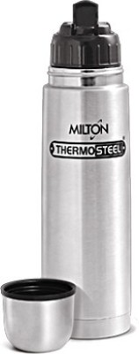 Milton Thermosteel Flip Lid 500 500 ml Flask(Pack of 1, Steel/Chrome)