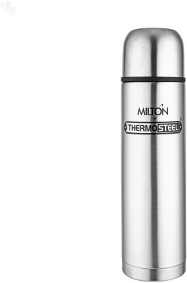 Milton Thermosteel 1000 ml Flask(Pack of 1, Steel/Chrome, Silver)