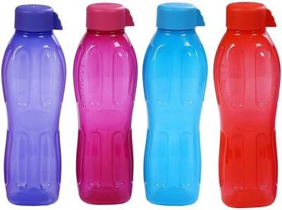 Signoraware Aqua Fresh 1000 ml Bottle(Pack of 4, Multicolor)  available at flipkart for Rs.560