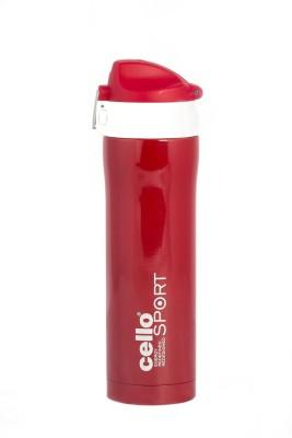 Cello S.S Joy Sip 500 ml Flask(Pack of 1, Red) at flipkart