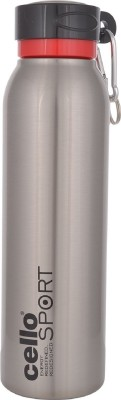 Cello Beatle Sport 550 ml Flask(Pack of 1, Silver)