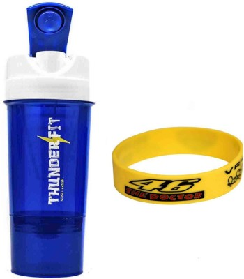 THUNDERFIT orignal sipper 500 ml Shaker, Sipper(Pack of 2, Multicolor)