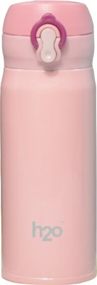 H2O SB 1005 350 ml Flask(Pack of 1, Pink)