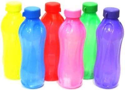 Cello Aqua Cool 1000 ml Bottle Pack of 6, Multicolor