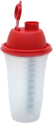 Tupperware Quick Shake 500 ml 1 500 ml Sipper(Pack of 1, Multicolor)