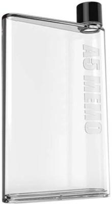 Painter A5 Memo Notebook Water Bottle Clear Black 420 ml 420 ml Bottle(Pack of 1, Clear, Black) at flipkart