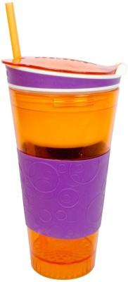 Snackeez 2 in 1 600 ml Bottle(Pack of 1, Multicolor) at flipkart