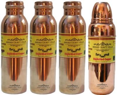 Indian Craft Villa ICV-C7-246 4200 ml Bottle(Pack of 4, Brown) at flipkart