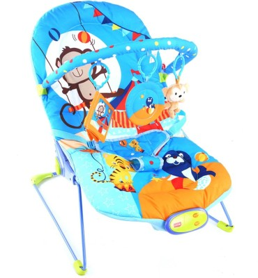 LuvLap Magic Circus Baby Bouncer Electric Bouncer(Multicolor)