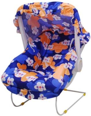 AAMAYA Blue Floral Print Bouncer(Multicolor)