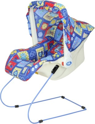 Infanto 7 in 1 BABY BOUNCER -Blue Non-electric Bouncer(Blue)
