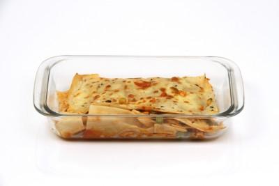 Vertis Rectangular Baking Dish 1.8l Borosilicate Glass Serving Bowl Clear, Pack of 1 Vertis Bowls