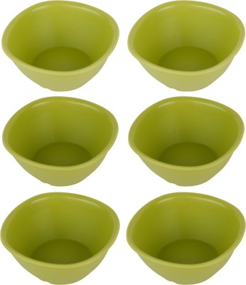 tupperware bowls Plastic Bowl Set(Green, Pack of 6)  available at flipkart for Rs.149