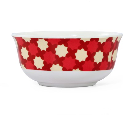 @home Earthy Wine Melamine Bowl(Maroon, Pack of 1)  available at flipkart for Rs.53