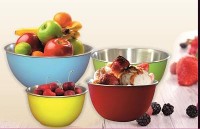 Liefde Stainless Steel Bowl Set(Multicolor, Pack of 4) at flipkart